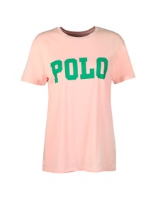 Polo Ralph Lauren Womens Pink Big Polo T-Shirt