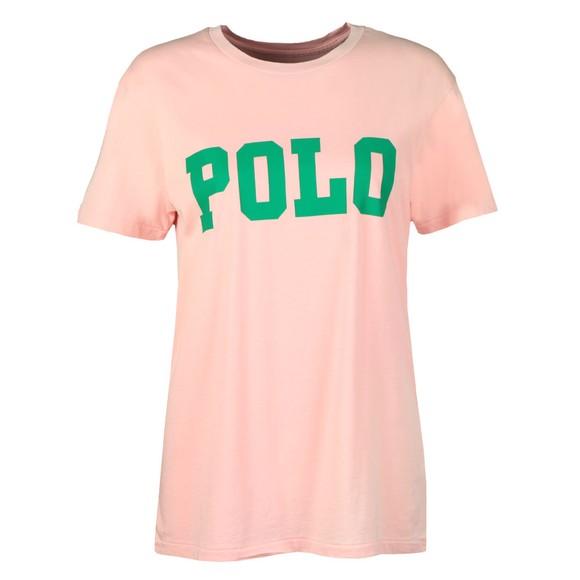 Polo Ralph Lauren Womens Pink Big Polo T-Shirt