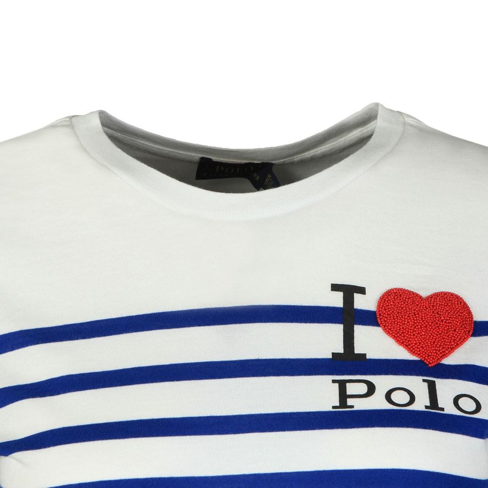 I <3 Polo Small Badge Top main image
