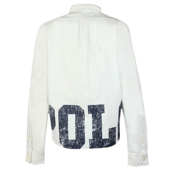 Polo Ralph Lauren Womens White Long Sleeve Pocket Shirt main image