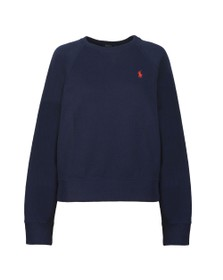 Polo Ralph Lauren Womens Blue Raglan Sweatshirt