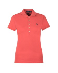 Polo Ralph Lauren Womens Red Julie Polo Shirt