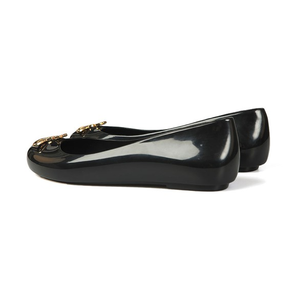 Vivienne Westwood Anglomania X Melissa Womens Black Space Love 22 Cut Out Orb Shoe main image