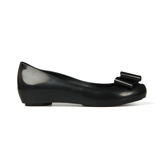 Vivienne Westwood Anglomania X Melissa Womens Black Ultragirl 22 Bow Orb Shoe