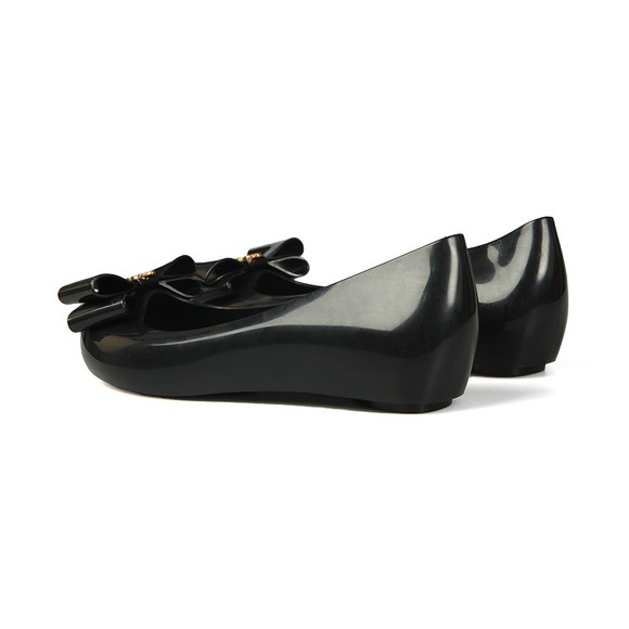Vivienne Westwood Anglomania X Melissa Womens Black Ultragirl 22 Bow Orb Shoe main image