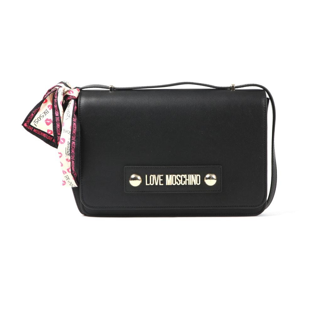 4c277650ec1 Love Moschino Metal Logo Small Bag | Oxygen Clothing