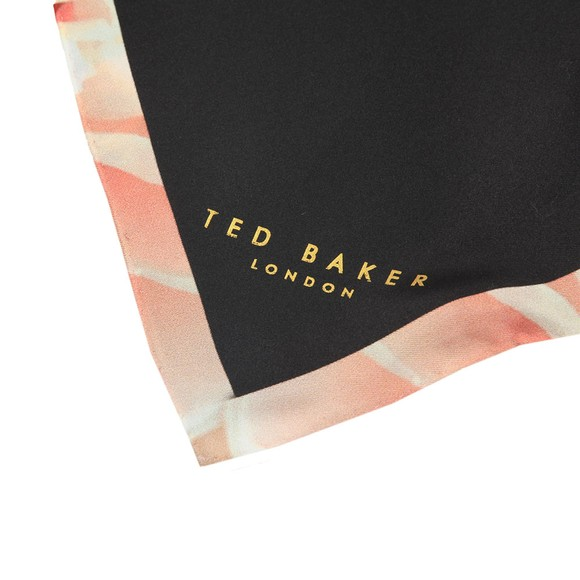 Ted Baker Womens Black Keesly Magnificent Square Scarf main image