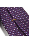 Eton Mens Purple Pin Dot Tie