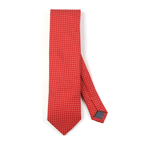 Eton Mens Red Pin Dot Tie main image