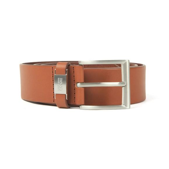 HUGO Mens Brown Connio Leather Belt