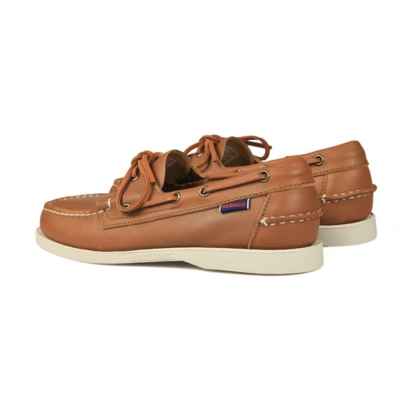 Sebago Mens Brown Docksides Portland Boat Shoe main image