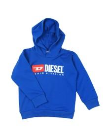 Diesel Boys Blue Diesel Denim Hoody