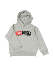 Diesel Boys Grey Diesel Denim Hoody