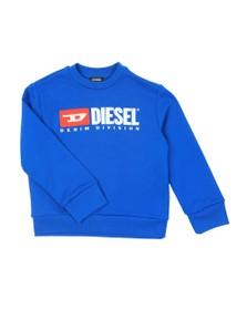 Diesel Boys Blue Diesel Denim Sweatshirt