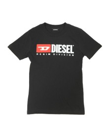 Diesel Boys Black Just Division Mag T-Shirt