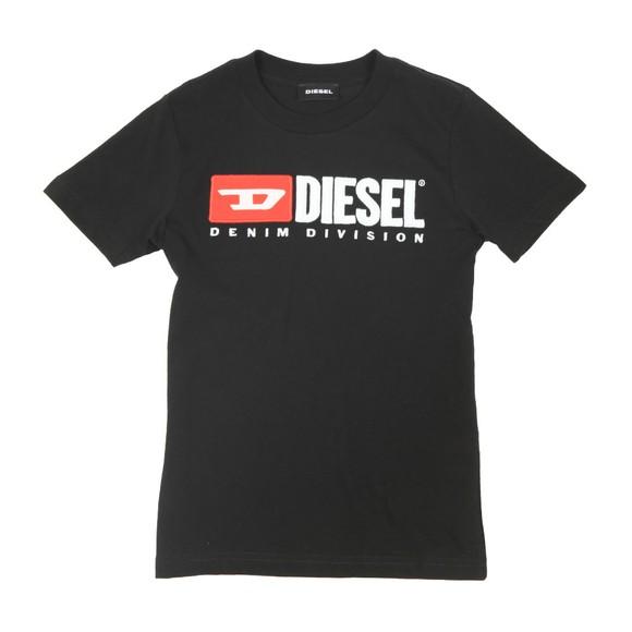 Diesel Boys Black Just Division Mag T-Shirt