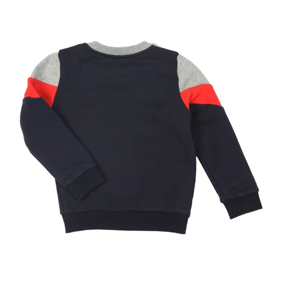 Paul Smith Junior Boys Grey Triple Panel Zebra Sweat main image
