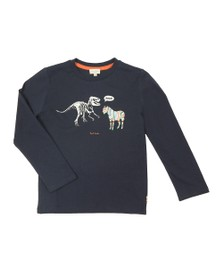 Paul Smith Junior Boys Blue Vladou T Shirt