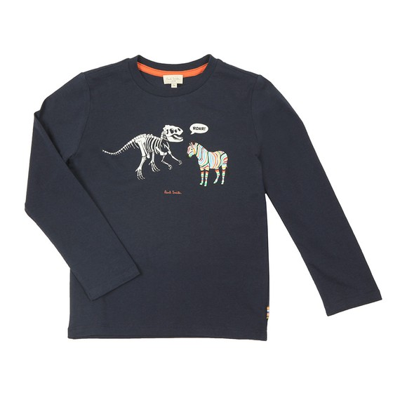 Paul Smith Junior Boys Blue Vladou T Shirt main image