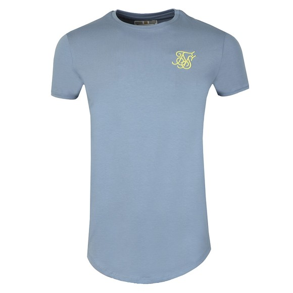 Sik Silk Mens Blue Gym Tee main image