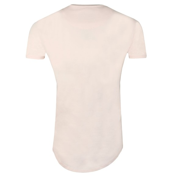 Sik Silk Mens Pink Gym Tee main image
