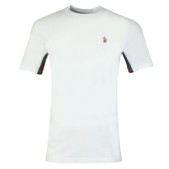 Luke Sport Mens White Bentley T-Shirt main image