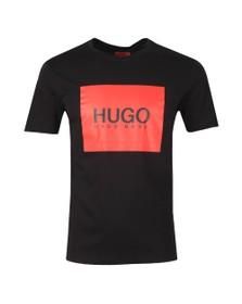 HUGO Mens Black Dolive 194 T Shirt