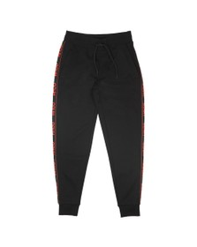 HUGO Mens Black Daschkent Jogger