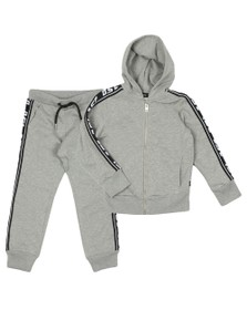 Diesel Boys Grey Suitax Tape Tracksuit
