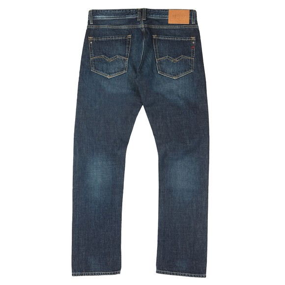 Replay Mens Blue Rob Straight Tapered Jean main image