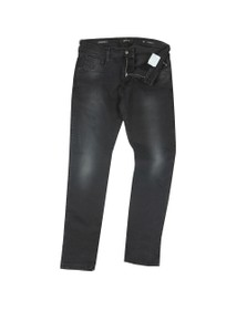 Replay Mens Black Hyperflex Stretch Jean