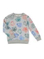 Georges Crazy Jungle Crew Sweatshirt