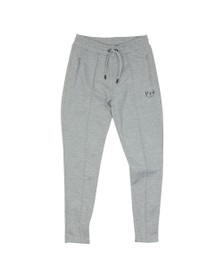 Pre London Mens Grey Pleated Jogger