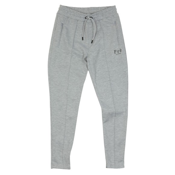 Pre London Mens Grey Pleated Jogger main image