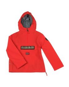 Napapijri Boys Red Rainforest Jacket