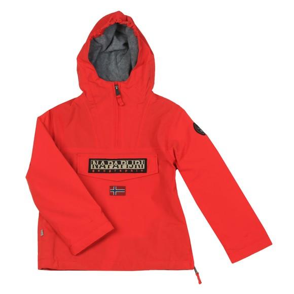 Napapijri Boys Red Rainforest Jacket main image