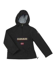 Napapijri Boys Black Rainforest Jacket