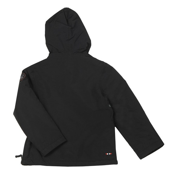 Napapijri Boys Black Rainforest Jacket main image