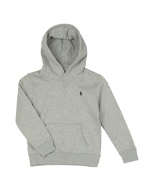 Polo Ralph Lauren Boys Grey Boys Overhead Fleece Hoody
