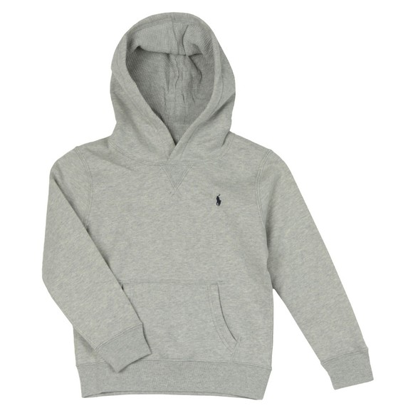 Polo Ralph Lauren Boys Grey Boys Overhead Fleece Hoody main image