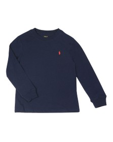 Polo Ralph Lauren Boys Blue Boys Long Sleeve Crew Neck T Shirt
