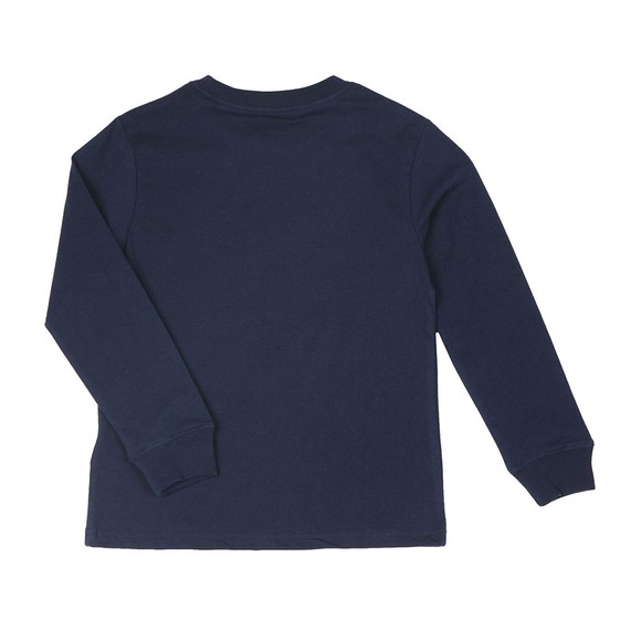 Polo Ralph Lauren Boys Blue Boys Long Sleeve Crew Neck T Shirt main image