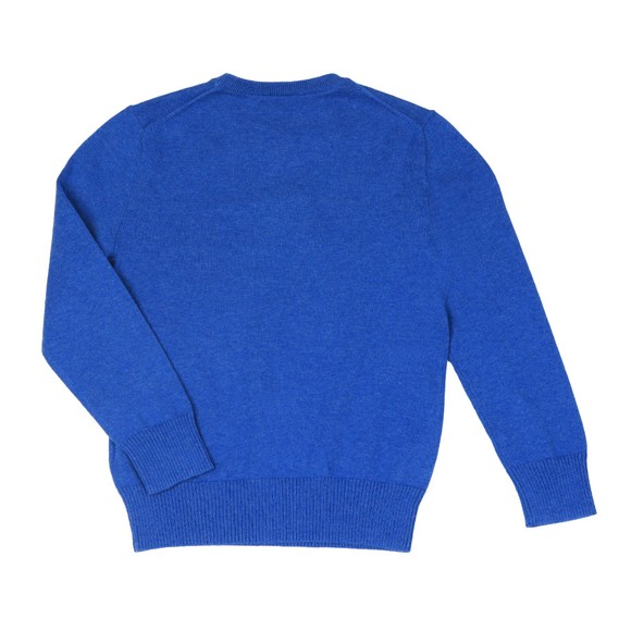 Polo Ralph Lauren Boys Blue Boys Fine Cotton Crew Jumper main image