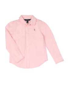 Polo Ralph Lauren Girls Pink Girls Oxford Shirt