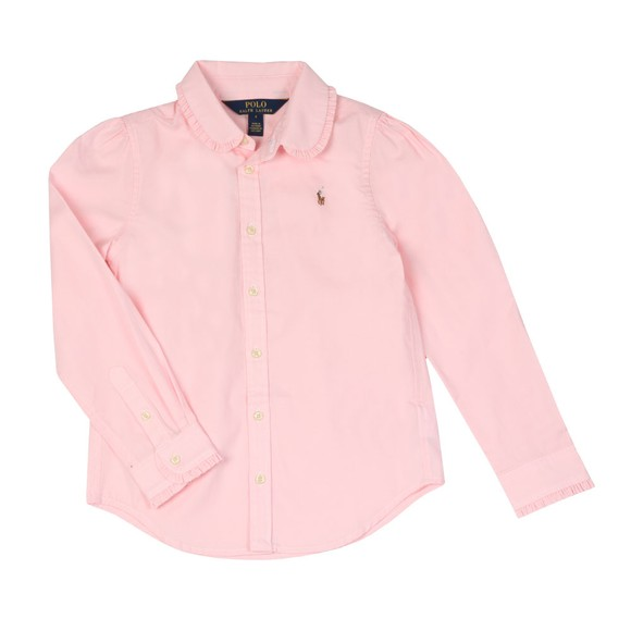 Polo Ralph Lauren Girls Pink Girls Oxford Shirt