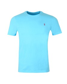 Polo Ralph Lauren Mens Blue Custom Slim Fit T-Shirt