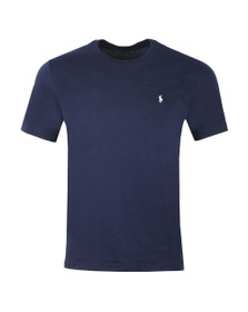 Polo Ralph Lauren Mens Blue Crew Neck Sleep T Shirt