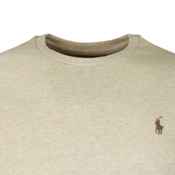Polo Ralph Lauren Mens Beige Custom Slim Fit T-Shirt