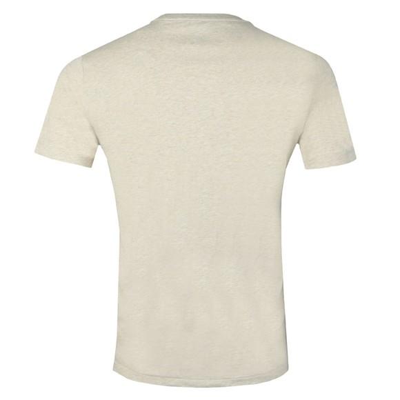 Polo Ralph Lauren Mens Beige Custom Slim Fit T-Shirt main image