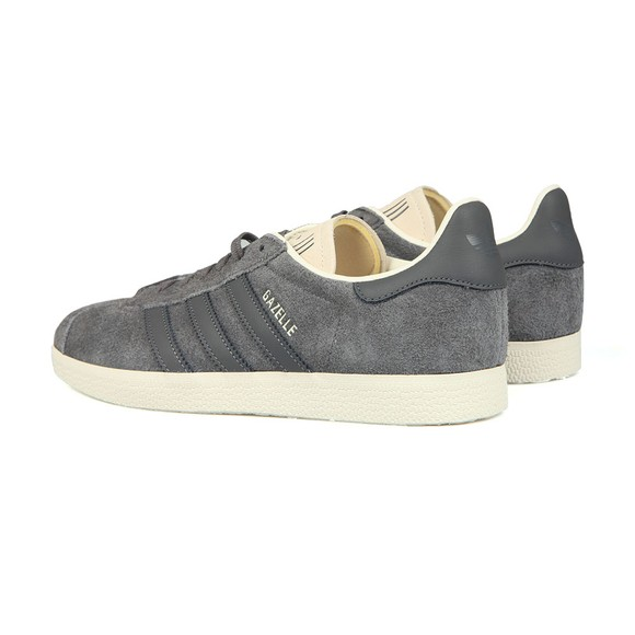 adidas Originals Mens Grey Gazelle OG Trainer main image
